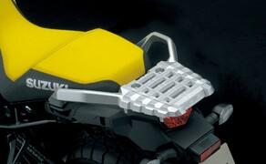 Suzuki V-Strom 1000 ABS 2017 Bild 15 Das Originalkoffersytem der V-Strom wurde ebenso harten Tests unterzogen wie das Motorrad selbst.