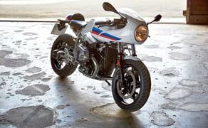 BMW R nineT Racer 2017 Bild 10 Druckvoller Boxer-Motor mit 1 170 cm3 Hubraum und 81 kW (110 PS) nach EU-4-Richtlinien.