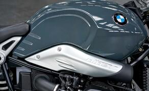 BMW R nineT Pure 2017 Bild 5 Die typischen Elemente der R ninT-Baureihe, darunter der Ansaugstutzen, bleiben auch bei der Pure erhalten.