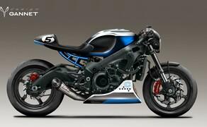 Suzuki GSX-S750 Cafe Racer Bild 1