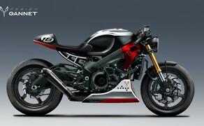 Suzuki GSX-S750 Cafe Racer Bild 2