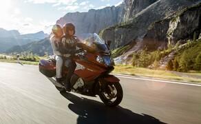BMW Motorrad Test-Camp Neue Modelle Bild 2 K1600GT