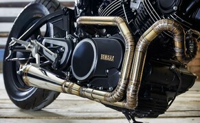 The Brute from Belarus - Tramontana Yamaha XV750 Bild 8