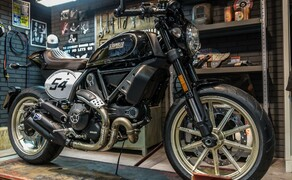 Ducati Scrambler Cafe Racer 2017 Bild 7