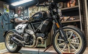 Ducati Scrambler Cafe Racer 2017 Bild 8