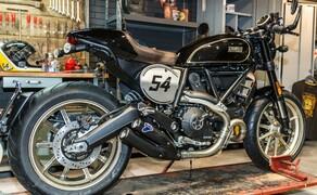 Ducati Scrambler Cafe Racer 2017 Bild 9