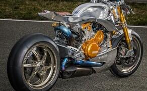 Ducati 1199 S Panigale Umbau von Ortolani Costums Bild 2