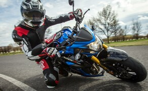 Nakedbike Vergleich - Triumph vs. Yamaha vs. Suzuki Bild 15