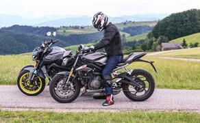 Nakedbike Vergleich - Triumph vs. Yamaha vs. Suzuki Bild 19
