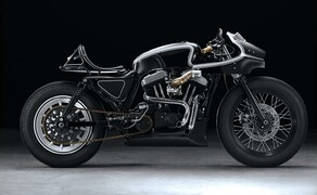 Harley Sportster Cafe Racer Umbau von Beautiful Machines Bild 1