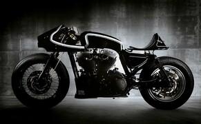 Harley Sportster Cafe Racer Umbau von Beautiful Machines Bild 2