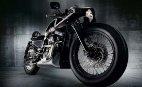 Harley Sportster Cafe Racer Umbau von Beautiful Machines Bild 4