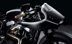 Harley Sportster Cafe Racer Umbau von Beautiful Machines Bild 5