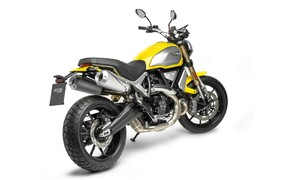 Ducati Scrambler 1100 - Alle Versionen Bild 3 Der Zweizylinder mit einem Hubraum von 1079 Kubik und einem Bohrung/Hub-Verhältnis von 98 mm x 71,5 mm leistet 86 PS bei 7500 U/min. und stemmt ein Drehmoment von 88,4 Nm bei 4750 U/min.