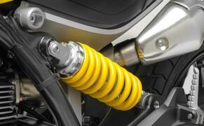Ducati Scrambler 1100 - Alle Versionen Bild 10 Fahrwerk hinten Kayaba Monoshock, Vorspannung und Zugstufe einstellbar