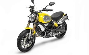Ducati Scrambler 1100 - Alle Versionen Bild 16 Ducati Scrambler 1100 Farben: 62 Yellow, mit schwarzem Rahmen und schwarzem Sitz Shining Black, mit schwarzem Rahmen und schwarzem Sitz