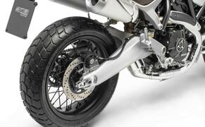 Ducati Scrambler 1100 - Alle Versionen Bild 12 Bremsen hinten 1x245 mm, 1-Kolben, Reifen Pirelli MT 60 RS, 120/80-18 und 180/55-17