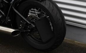 WUNDERKIND-Custom: neue Motorradzubehörteile Bild 4 seitlicher Kennzeichenhalter
