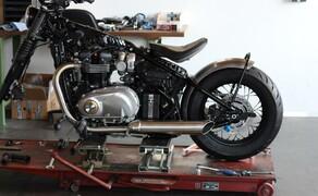 WUNDERKIND-Custom: neue Motorradzubehörteile Bild 11 Zubehör Bobber Heckfender roh