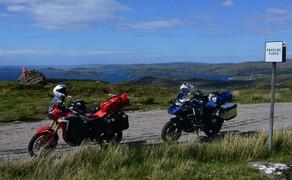Motorradfahren in Schottland mit Feelgood-Reisen Bild 7 Ziemlich zerfranst - die Westküste der Äußeren Hebriden. © Feelgood Reisen