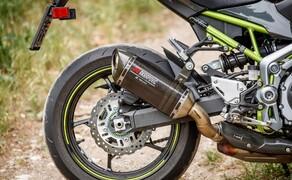Kawasaki Z900 im Naked Bike Vergleich 2018 Bild 16