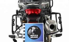BMW F850 GS Zubehör von Hepco & Becker Bild 8 Kofferträger Lock It