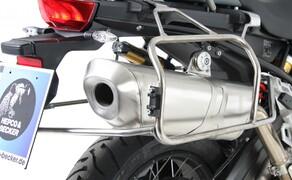 BMW F850 GS Zubehör von Hepco & Becker Bild 11 Xplorer Cutout Set