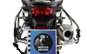 BMW F850 GS Zubehör von Hepco & Becker Bild 12 Xplorer Cutout Set