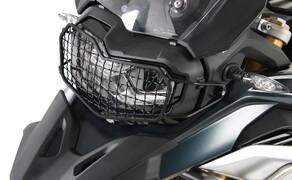 BMW F850 GS Zubehör von Hepco & Becker Bild 17 Lampenschutzgitter