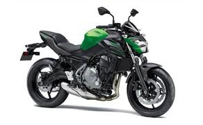 Neue Farben für 2019 Kawasaki Modelle Bild 11 Kawasaki Z650: Candy Flat Blazed Green/Metallic Matte Graphite Gray/Metallic Flat Spark Black