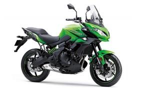 Neue Farben für 2019 Kawasaki Modelle Bild 6 Kawasaki Versys 650: Candy Lime Green/Metallic Spark