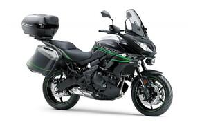 Neue Farben für 2019 Kawasaki Modelle Bild 7 Kawasaki Versys 650: Metallic Spark Black/Metallic Matte Fusion Silver