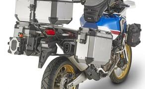 Neues GIVI-Zubehör für die Honda Africa Twin 2018 Bild 4 Spezifischer Stahlrohr-Seitenkofferträger für Trekker Outback MONOKEY® CAM-SIDE Koffer (223,99 €)