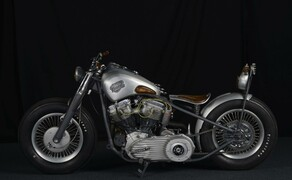 Harley Pan Head 1950 Bild 12