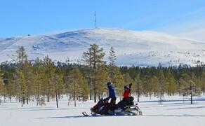 Motorschlitten-Wochenende in Finnland Bild 3 Natur pur – offroad im Schnee mit dem Motorschlitten © Feelgood Reisen