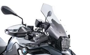 Ruhe bewahren! - Neues Wunderlich Windschild Bild 1 Wunderlich Verkleidungsscheibe »EXTREME« an BMW F 750 GS
