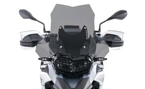 Ruhe bewahren! - Neues Wunderlich Windschild Bild 3 Scheibe »EXTREME« rauchgrau auf Wunderlich BMW F 850 GS