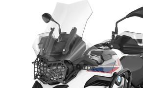 Ruhe bewahren! - Neues Wunderlich Windschild Bild 5 Scheibe »EXTREME« transparent auf Wunderlich BMW F 850 GS