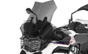 Ruhe bewahren! - Neues Wunderlich Windschild Bild 6 Scheibe »EXTREME« rauchgrau auf Wunderlich BMW F 850 GS