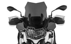 Ruhe bewahren! - Neues Wunderlich Windschild Bild 8 Scheibe »EXTREME« rauchgrau auf Wunderlich BMW F 850 GS