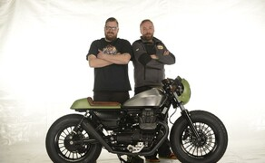 Ottocentocinquantatré - 853 cm³ in der Custom Moto Guzzi Bobber Bild 1