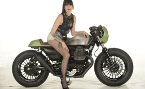 Ottocentocinquantatré - 853 cm³ in der Custom Moto Guzzi Bobber Bild 4