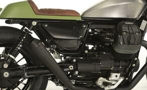 Ottocentocinquantatré - 853 cm³ in der Custom Moto Guzzi Bobber Bild 8