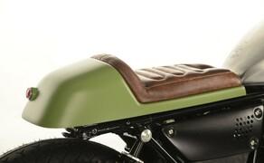 Ottocentocinquantatré - 853 cm³ in der Custom Moto Guzzi Bobber Bild 9