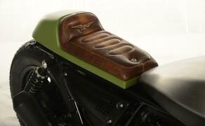 Ottocentocinquantatré - 853 cm³ in der Custom Moto Guzzi Bobber Bild 12