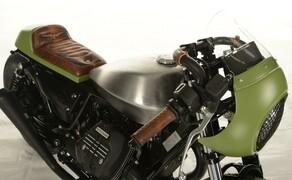 Ottocentocinquantatré - 853 cm³ in der Custom Moto Guzzi Bobber Bild 13