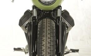 Ottocentocinquantatré - 853 cm³ in der Custom Moto Guzzi Bobber Bild 14