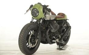 Ottocentocinquantatré - 853 cm³ in der Custom Moto Guzzi Bobber Bild 15
