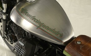 Ottocentocinquantatré - 853 cm³ in der Custom Moto Guzzi Bobber Bild 16