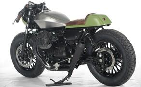 Ottocentocinquantatré - 853 cm³ in der Custom Moto Guzzi Bobber Bild 18